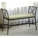 International Caravan Foot-Of-Bed Bench with Cushion