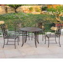 International Caravan Mandalay Set of 5 Outdoor Dining Group