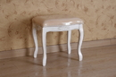 International Caravan 3963-AW Vanity Stool with Cushion Top