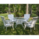 International Caravan San Tropez 5-Piece Outdoor Dining Group