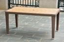 International Caravan Barcelona Resin Wicker/Aluminum Rectangular Dining Table