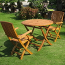 International Caravan RT-029-FA-040-2CH Royal Tahiti Three Piece Bascara  Group Set, Stain