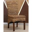 International Caravan Gaby Woven Banana Dining Chair (Set of 2)
