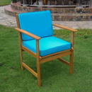 Set of Two Royal Tahiti Gulf Port Arm Chair with Cushions