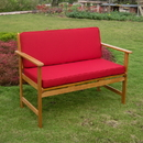 Royal Tahiti Gulf Port Arm Bench with Cushions