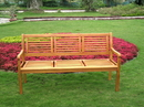 International Caravan TT-3B-053 Bar Harbor Three Seater Bench