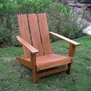 Acacia Large Square Back Adirondack Chair