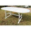 International Caravan Royal Fiji 59-inch / 79-inch Acacia Oval Extendable Dining Table w/Fold Out Leaf