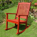 International Caravan Acacia Large Rocking Chair
