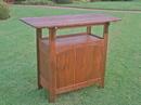 International Caravan VF-4107 Wood Bar Table, Brown
