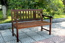 Outdoor 4 Foot Wood Bench