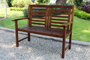 International Caravan VF-4306 Acacia Trinidad Bench, Brown