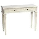 International Caravan Windsor Two Drawer Rectangular Console Table