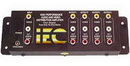 IEC ADP5144 4 way splitter for Composite Video plus Stereo Audio