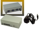 IEC ADP5202H 2 Port VGA Splitter and Booster - Split a VGA signal and boost it up to 180 feet