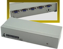 IEC ADP5204H 4 Port VGA or XGA Splitter and Booster - Split the signal and boost it up to 180 feet