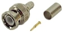 IEC BNC-RG59 BNC Male Coax Connector for RG59