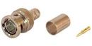 IEC BNC-RG6-75 BNC Male 75 Ohm Coax Connector for RG6