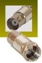 IEC BNCF-F100M BNC Female to F-type Male Coax Adapter