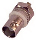 IEC BNCF-MT BNC Female Bulkhead Coax Connector