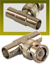 IEC BNCT-1M BNC 'T' Male to Female to Female Coax Connector