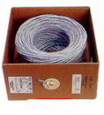 IEC CAB008-MP-L5-GY 24 Gauge 4 Pair Stranded Category 5e Gray Cable Priced by the Foot