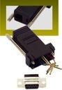 IEC DB09F-RJ1106-BK DB09 Female to RJ1106 Adapter Black
