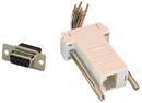 IEC DB09F-RJ4508-WH DB09 Female to RJ4508 Adapter White