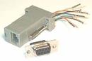 IEC DB09F-RJ4508 DB09 Female to RJ4508 Adapter Gray