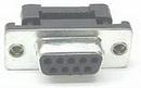 IEC DB09FC-TH DB09 Female Threaded Tab Ribbon Connector