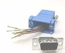 IEC DB09M-RJ4508-BU DB09 Male to RJ4508 Adapter Blue
