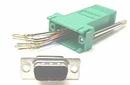 IEC DB09M-RJ4508-GN DB09 Male to RJ4508 Adapter Green
