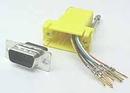 IEC DB09M-RJ4508-YE DB09 Male to RJ4508 Adapter Yellow
