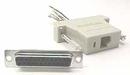 IEC DB25F-RJ1106-DC DB25 Female to RJ1106 DEC MMJ Adapter