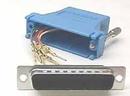 IEC DB25M-RJ4508-BU DB25 Male to RJ4508 Adapter Blue