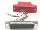 IEC DB25M-RJ4508-RD DB25 Male to RJ4508 Adapter Red