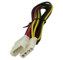 IEC L1068-02 5.25 inch Disk Drive Power Extension Cable 2 foot