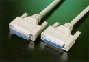 IEC L2162-50 RS232 Female to Male Null-Modem and Printer Cable 50'