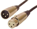IEC L7212-10 3 Pin XLR Male to Female 10 feet
