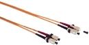 IEC L8133-01M SC to SC Duplex 62.5 ? Multimode Fiber Optic Cable 1 Meter