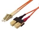 IEC L8153-01M LC to SC Duplex 62.5 ? Multimode Fiber Optic Cable 1 Meter