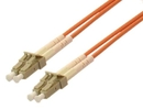 IEC L8155-15M LC to LC Duplex 62.5 ? Multimode Fiber Optic Cable 15 Meter