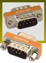 IEC M1391 DB9 Male to DB9 Male Null Modem Adapter