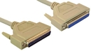 IEC M2022 DB37 Male to Female 37 Conductor Straight Through Cable 6'