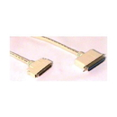 IEC M350800 SCSI Cable DM68 Male with Clips to CN50 Male 3'
