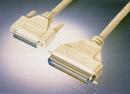 IEC M351000 Future Domain SCSI Cable DB25 Male to CN50 Male 3'