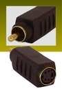 IEC M5661 SVHS MD04 Female to Composite RCA Male Adapter
