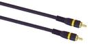 IEC M7391-03 1 RCA to 1 RCA Blue Python Cable for Hi Resolution Signals 3'