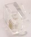 IEC MP04M RJ11 4 Position Modular Plug