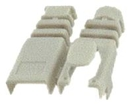 IEC MP06HS-GY RJ11 Modular Snap-on Strain Relief Boot - Gray